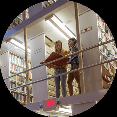 Specker Library Stacks