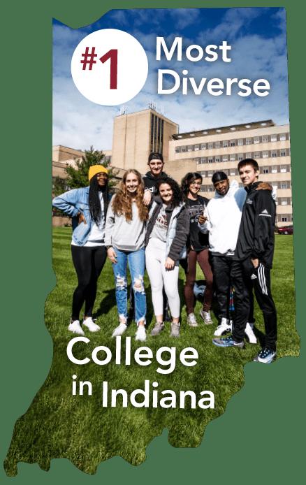 CCSJ #1 Most Diverse College in Indiana