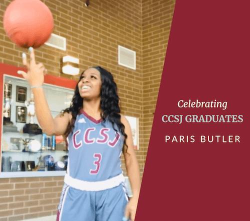 Celebrating Our Graduates – Paris Butler